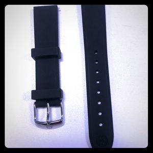Michele Watch Straps / Band - Black